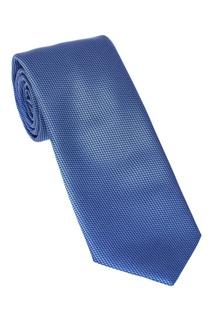 Синий галстук из шелка Brioni