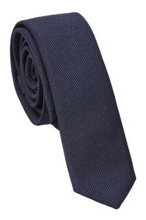 Синий шелковый галстук Dolce & Gabbana