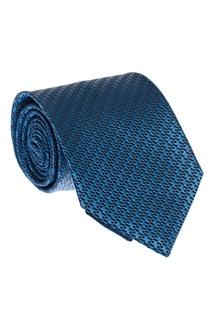 Жаккардовый галстук из шелка Ermenegildo Zegna