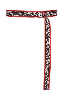 Текстильный ремень с логотипом Daily Paper