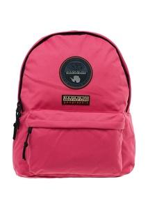 Розовый рюкзак из ткани Napapijri