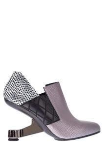 Кожаные туфли Eamz Janis United Nude