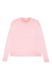 Розовый джемпер из шерстяного микса Finola Acne Studios
