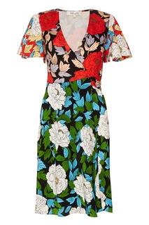 Шелковое платье с запахом Diane von Furstenberg