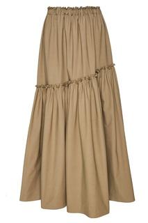 Хлопковая юбка с воланом ЛИ ЛУ