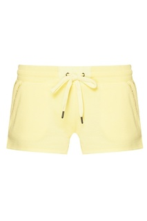 Светло-желтые шорты из хлопкового микса PJ Salvage