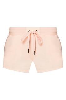 Розовые шорты из хлопкового микса PJ Salvage
