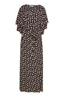 Платье-халат с цветами ЛИ ЛУ
