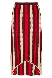 Шерстяная юбка-миди Marni