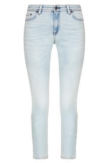 Голубые выбеленные джинсы-скинни Acne Studios