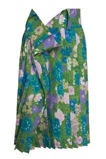 Шелковая юбка Balenciaga