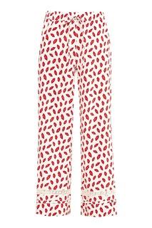 Расклешенные брюки с принтом P.A.R.O.S.H.