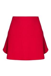 Короткая розовая юбка RED Valentino