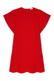 Платье с широкими рукавами RED Valentino