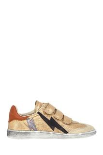 Кожаные кроссовки Beth Isabel Marant