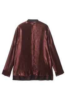 Блестящая блузка в полоску Haider Ackermann