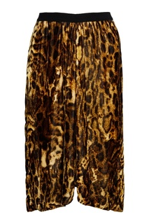 Бархатная юбка с принтом Tursanne Isabel Marant