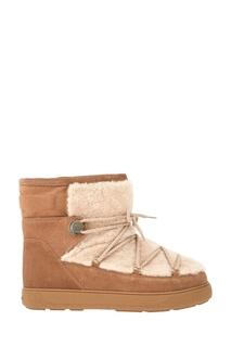 Замшевые ботинки New Fanny Moncler