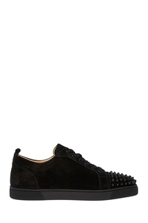 Замшевые кеды Louis Junior Spikes Flat Christian Louboutin