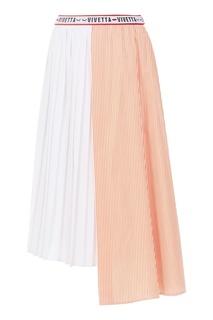 Асимметричная юбка из хлопка Vivetta