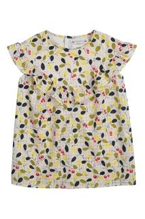 Блузка желтая GAZELLE Bonpoint