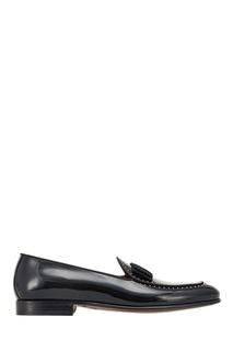 Черные лакированные лоферы Dolce & Gabbana