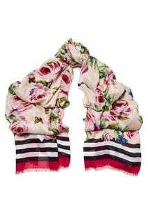 Платок с розами Dolce & Gabbana