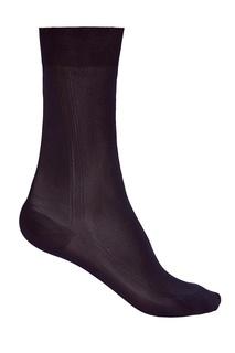 Черные шелковые носки Brioni