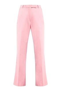 Короткие розовые брюки Etro