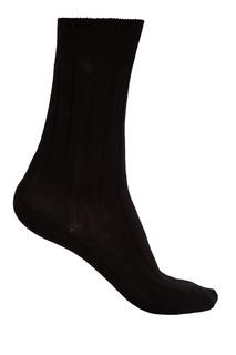 Черные носки из хлопка Artioli