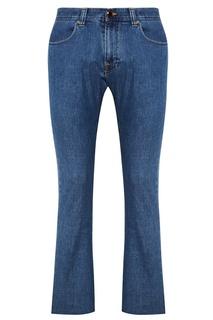 Прямые синие джинсы Etro