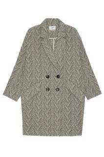Шерстяное пальто oversize Isabel Marant Etoile