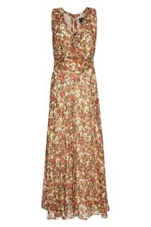 Платье-макси с цветочным принтом Isabel Marant