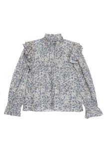 Льняная блузка с оборками Isabel Marant Etoile