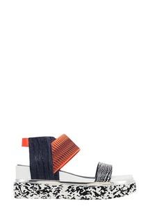 Комбинированные сандалии Rico Sandal United Nude