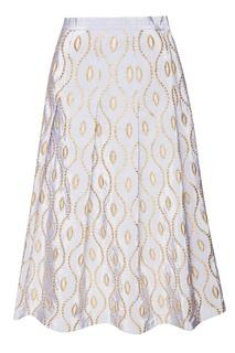 Расклешенная юбка из жаккарда Marni