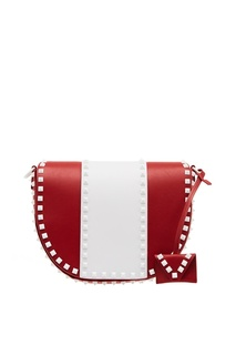 Комбинированная сумка из кожи Free Rockstud Valentino