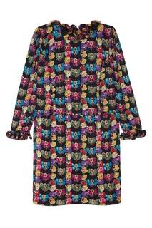 Шелковое платье (80-е) Louis Feraud Vintage