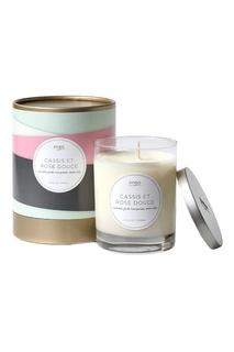 Ароматическая свеча Cassis Et Rose Douce, 312гр. Kobo Candles