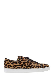 Кеды из кожи пони Rurrrfect Sneakers Charlotte Olympia