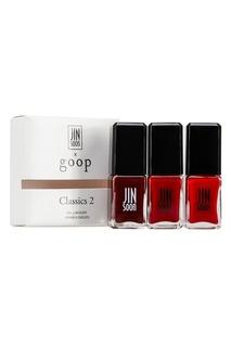 Набор лаков для ногтей Goop x Classics2 3x11ml Jin Soon