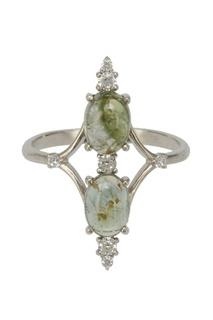 Серебряное кольцо с турмалинами Moonka Studio