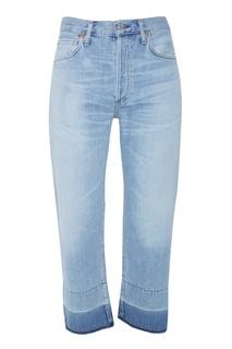 Укороченные джинсы с отделкой Citizens of Humanity