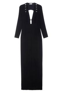 Платье-макси с глубоким декольте Mugler