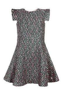 Платье с принтом Dior Children