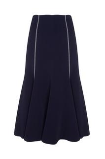 Однотонная юбка Natasha Gabriela Hearst
