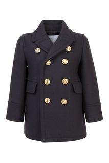 Шерстяное пальто Burberry Children