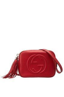 Кожаная сумка Soho Gucci