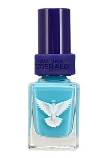 Лак для ногтей Leanne «Сияющий голубой» Christina Fitzgerald