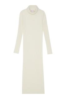 Платье из шерсти мериноса с кашемиром Mixer